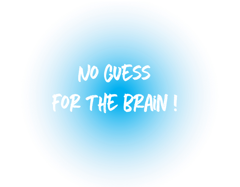 no guess for the brain